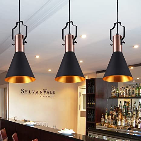 Foshan mingze 1-Light Industrial Vintage de Metal lámpara de ...