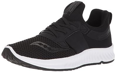 b41b6b39 Saucony Women's Stretch N Go Breeze Running Shoe, Black, 5.5 ...