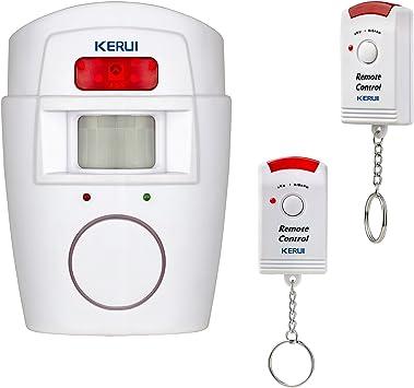 Kerui Alarma inalámbrica por infrarrojos, sensor de movimiento ...