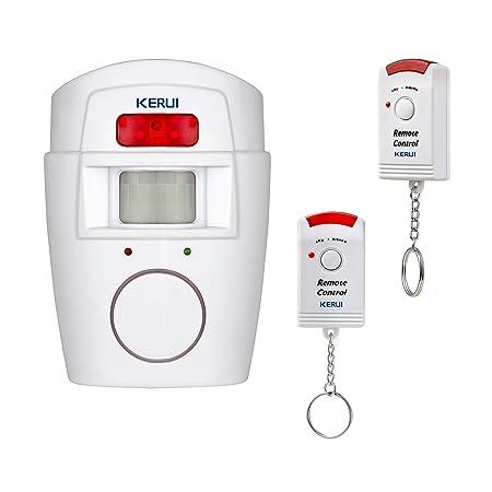 Kerui–Wireless Infra red Motion Sensor Alarm 105dB - outdoor motion sensor alarm