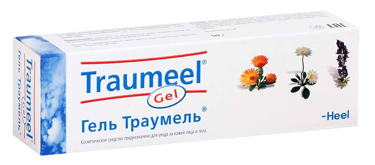 Amazon.com: 1 X 50g Heel Traumeel Anti Inflammatory Gel Muscular & Joint Pain, Sports Injury: Health & Personal Care