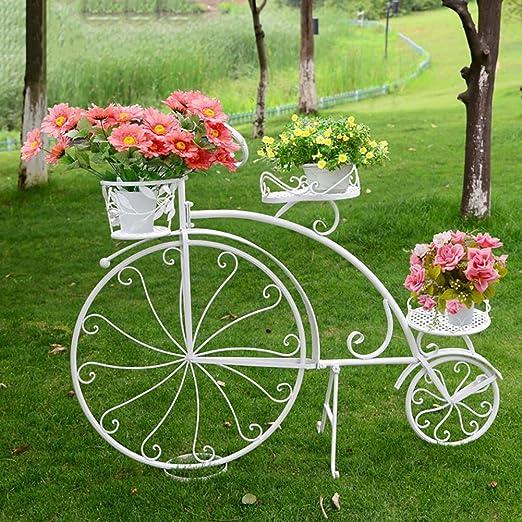 RJZHJ europeo Arte de hierro bicicleta Puesto de flores ...
