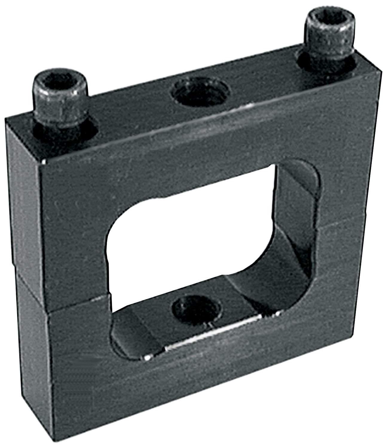 Allstar ALL14189 Black Anodized Aluminum Ballast Bracket for 2' x 2' Square Tubing