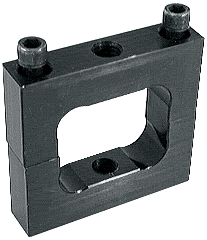 Allstar ALL14189 Black Anodized Aluminum Ballast Bracket for 2'' x 2'' Square Tubing