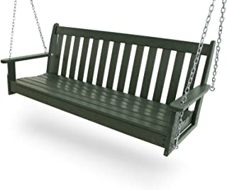 """product image for POLYWOOD GNS60GR Vineyard 60"""" Swing, Green"""