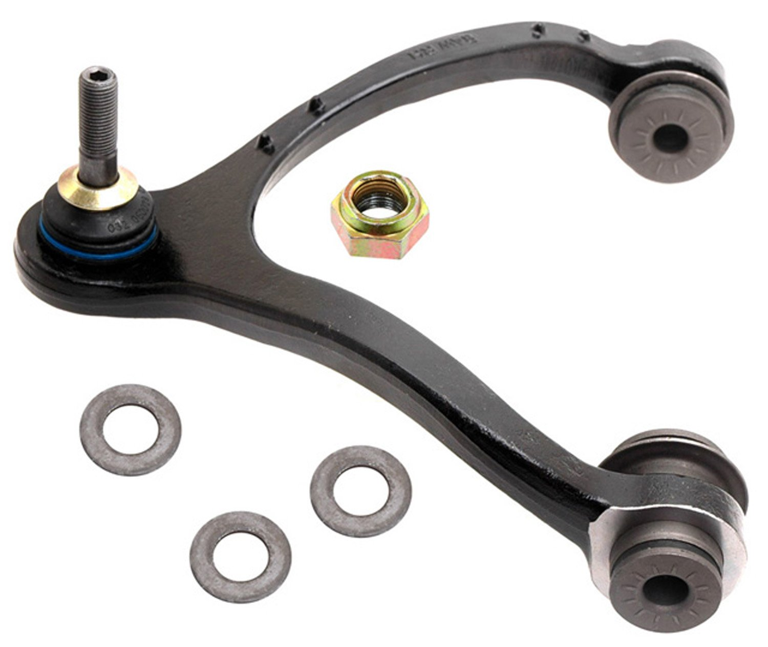 ACDelco 45D1076 Professional Front Passenger Side Upper Suspension Control Arm and Ball Joint Assembly