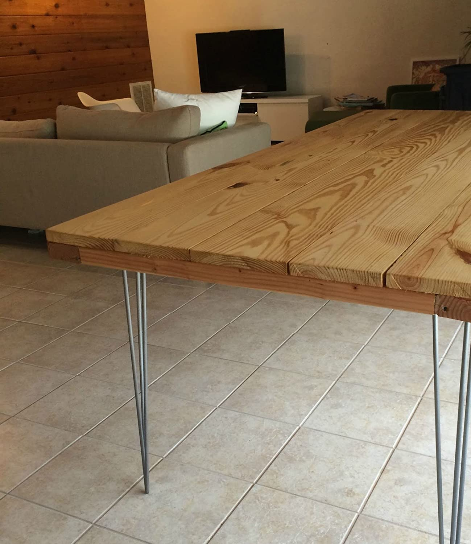 Merveilleux WINSOON Diy Home Improvement Furniture Hardware Gray Color 3 Rod 28u0027u0027 U2013  34u0027u0027 Prime Hairpin Metal Steel Coffee Table Legs Set Of 4 (34 Inch) (3 Rod)  (Gray)