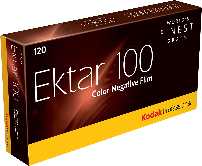 20 Rolls of Kodak Ektar 100 Professional 120 Size Film