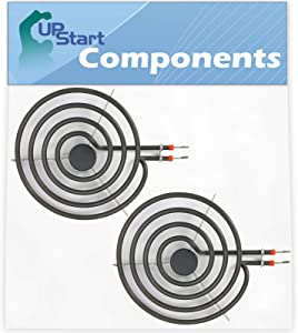 "2-Pack 316442300 8"" Element Replacement for Electrolux FFEF3011LWF - Compatible with 316442300 Range Element"