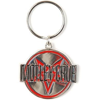 Amazon.com: Motley Crue Shout at the Devil metal Key cadena ...