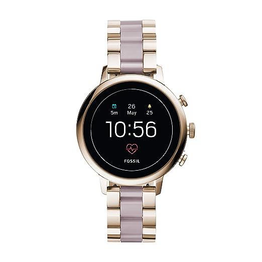 Amazon.com: Fossil Q FTW6020 - Reloj de cuarzo analógico con ...
