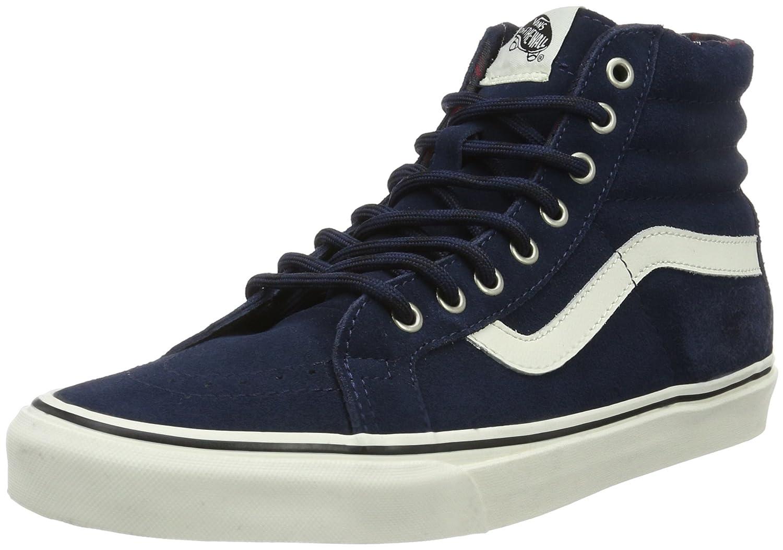 Vans Unisex-Erwachsene Sk8-Hi Reissue Sneaker  41 EU Blau ((Mlx) Winter/Dress Blues)