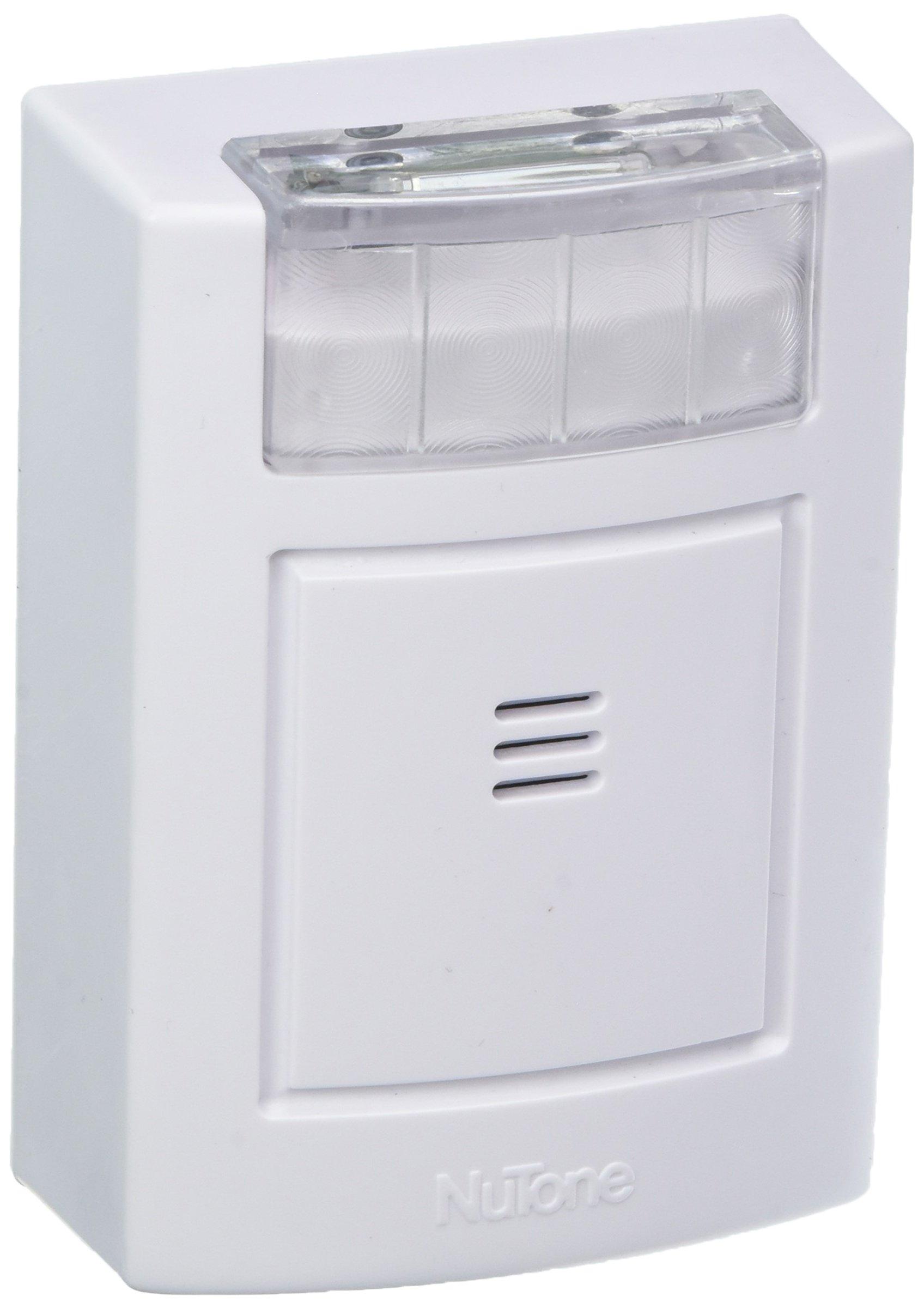 NuTone Wireless Chime Receiver with Strobe - LA224RWH