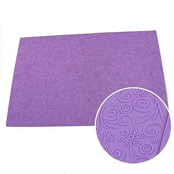 58 x 38 cm für große Blatt Muster Silikon Fondant Cake Lace Matte ...