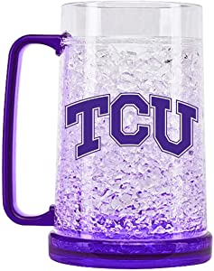 NCAA Texas Christian Horned Frogs 16oz Crystal Freezer Mug