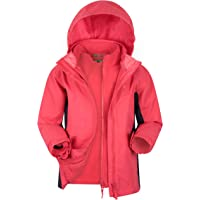 Mountain Warehouse Chaqueta Impermeable Lightning Infantil - Triclima