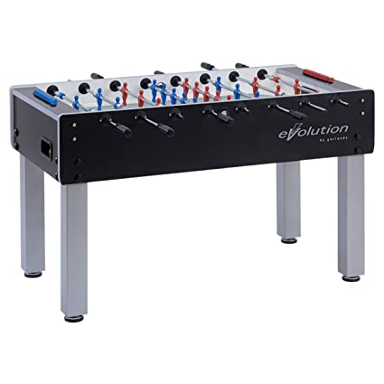 4c10010dab6e08 Garlando G-500 Evolution Foosball Table with Heavy-Duty Steel Legs and Leg  Levelers