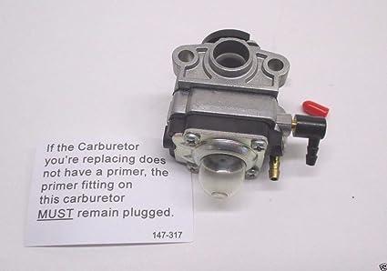 Amazon.com: Walbro Carburador parte # wyl-161 – 1: Jardín y ...