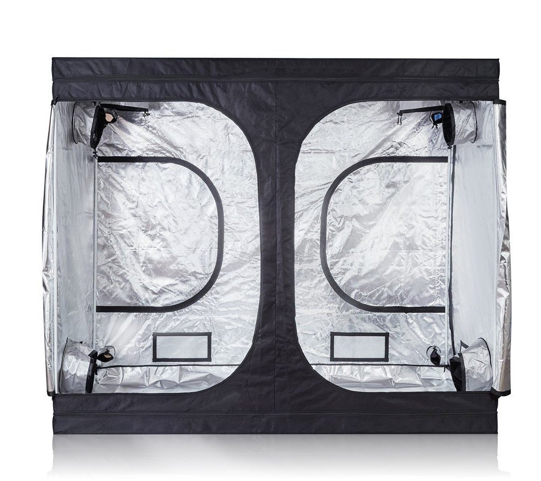 iPower GLTENTXL2 Grow Tent, 80 x80 x78 , Black and Silver