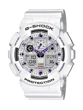 casio g shock men s quartz watch white dial analogue digital casio g shock men s quartz watch white dial analogue digital display and white