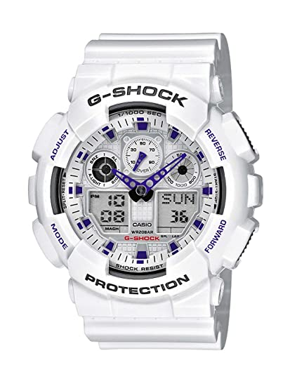 fe703a7ba0a1 Casio Reloj de Pulsera GA-100A-7AER  Amazon.es  Relojes