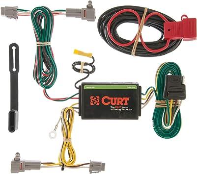 2011 subaru outback wiring harness amazon com curt 56111 vehicle side custom 4 pin trailer wiring  amazon com curt 56111 vehicle side