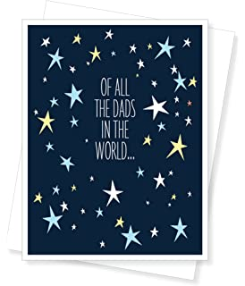 Amazon happy birthday daughter from dad greeting card we have greatest dad stars birthday greeting card m4hsunfo