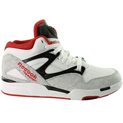 00a5f644610 Reebok Pump Omni Lite (White Black Red) (7 UK)  Amazon.co.uk  Shoes   Bags