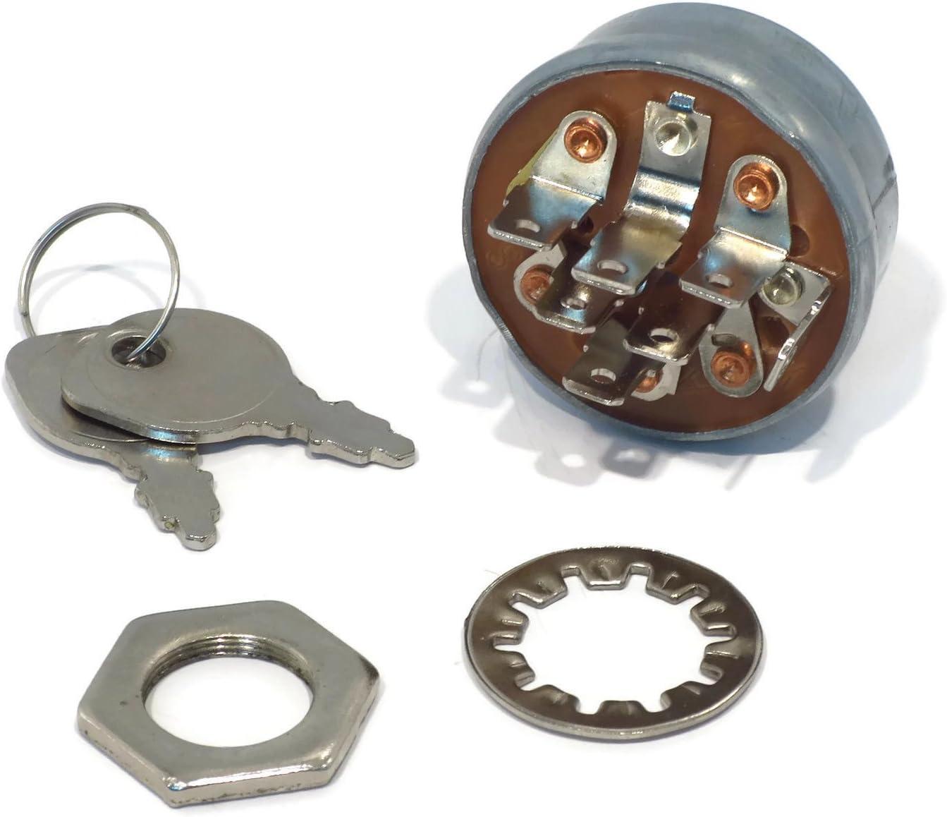 New Ignition Starter Key Switch for Hustler 045898 Husqvarna 532158913