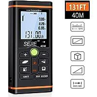 BEBONCOOL Entfernungsmesser, Laser-Entfernungsmesser Lasermessgerät Distanzmessgerät, Messbereich 0,05~40m/±1.5mm mit LCD Hintergrundbeleuchtung, Rangfinder Distanzmesser für den Heimwerker und Profi