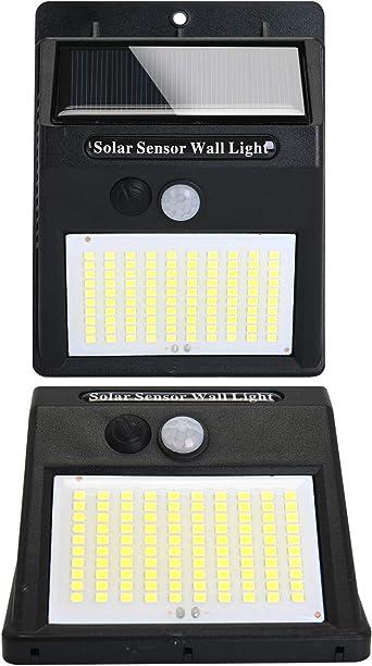 Luz Solar Exterior Sensor de Movimiento [100 Led/3 Modo] Focos Luces Solares Led Exterior Jardin, Gran Angular de Iluminación 120º Lámpara Solar Impermeable 3 Inteligente Modos Para Jardín: Amazon.es: Iluminación