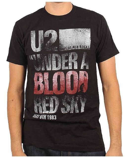 U2 - Camiseta - Hombre de color Negro de talla Small - U2 - Uomo Under