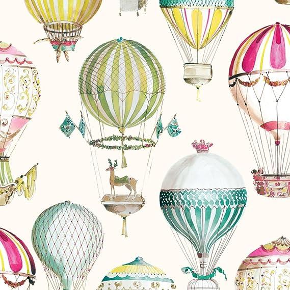 hot Air Ballon Kinder Zimmer Tapete non-Woven-Wallpaper von Cartoon-Wandbilder Süßen jungen und Mädchen Schlafzimmer Tapeten-