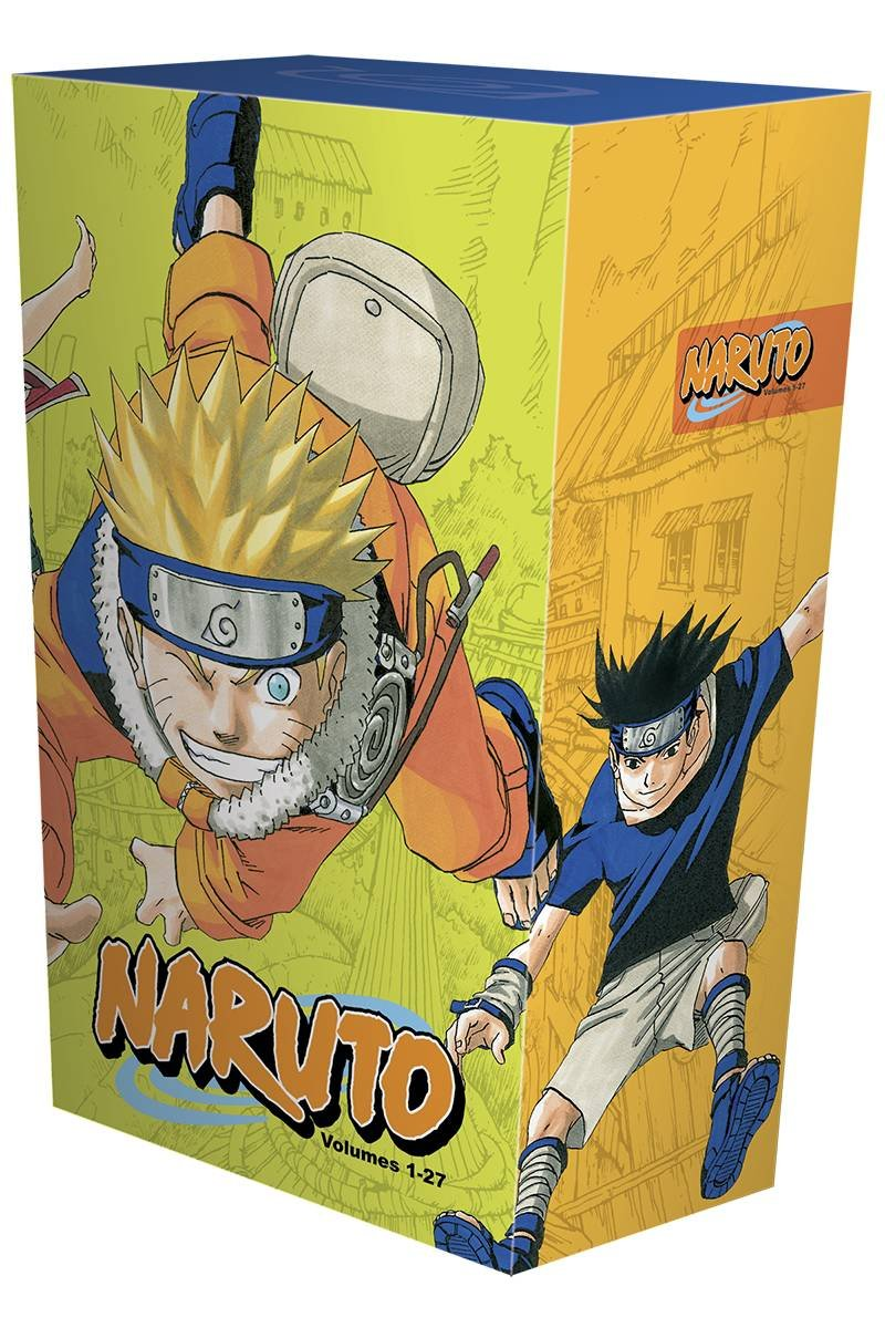Naruto Box Set 1: Volumes 1-27