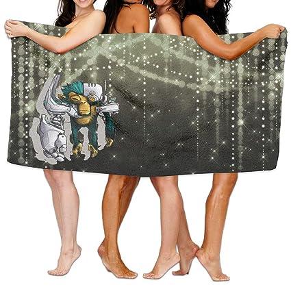 De la Mujer Cottton inteligente robot de ciencia ficción Mono toallas de baño ducha Wrap
