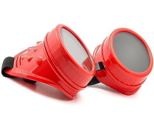 MFAZ Morefaz Ltd Welding Cyber Goggles De Soleil Des Lunettes de Soudage Steampunk Antique Copper (Black Spikes) 03r4JV