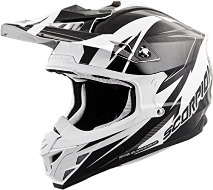Scorpion VX-35 Krush Off-Road Motorcycle Helmet (White, Medium)