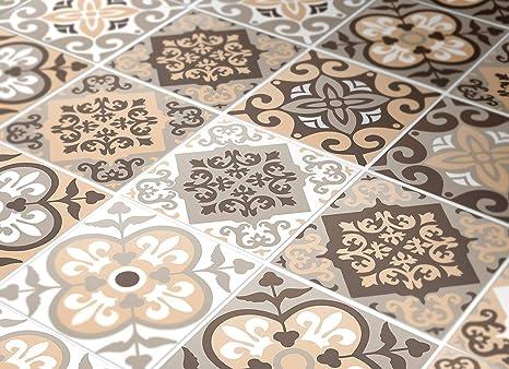 Adesivi per piastrelle confezioni con 24 piastrelle 10 x 10 cm
