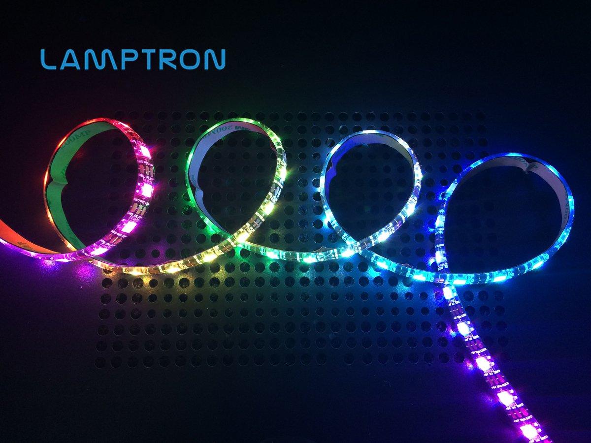 buy popular 874bb 5c183 Amazon.com: Lamptron Flexlight Multi Programmable LED Strip ...