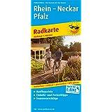 Rhein - Neckar - Pfalz: Radwanderkarte mit Ausflugszielen, Einkehr- & Freizeittipps, wetterfest, reissfest, abwischbar, GPS-genau. 1:100000 (Radkarte / RK)