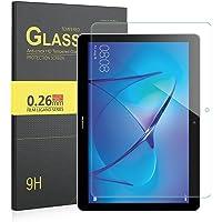 IVSO Pellicola Protettiva Schermo in Vetro Temperato per Huawei MediaPad T3 10 Tablet (Tempered Glass - 1 Pack)