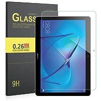 ELTD Huawei MediaPad T3 10 pellicola protettiva, tempered Glass Pellicola Protettiva Schermo per Huawei MediaPad T3 10, Glass