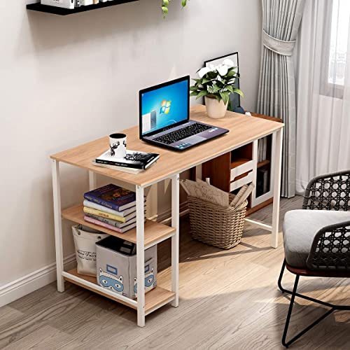 Computer Desk Rustic Writing Desk,Home Office Table
