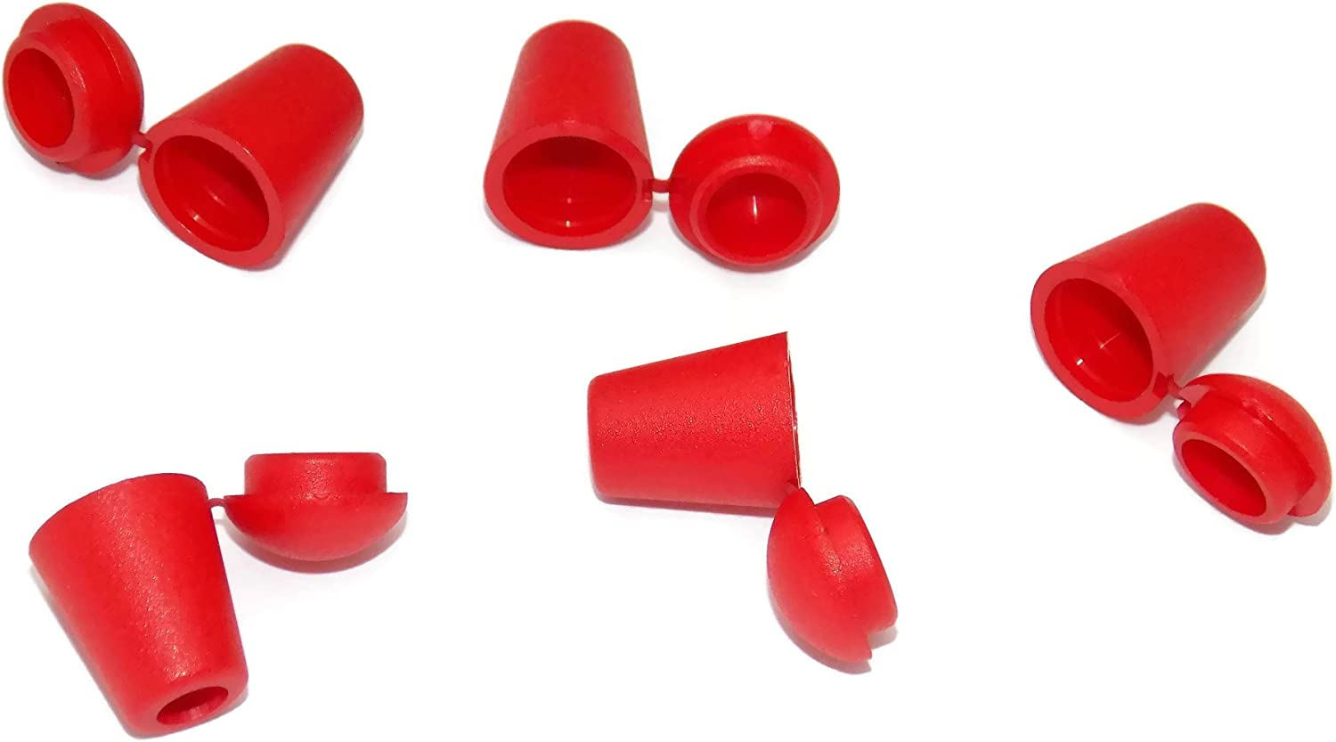 Midwest Cord Bell End Caps End Caps for 550 Paracord Craft Supply TM Brand Plastic Paracute Cord Accessories