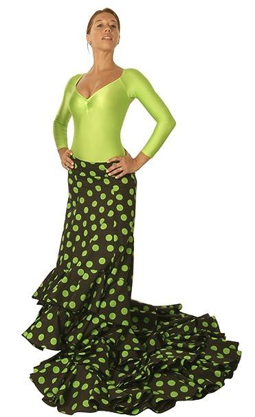 Falda de Cola Flamenca Caracoles: Amazon.es: Ropa y accesorios