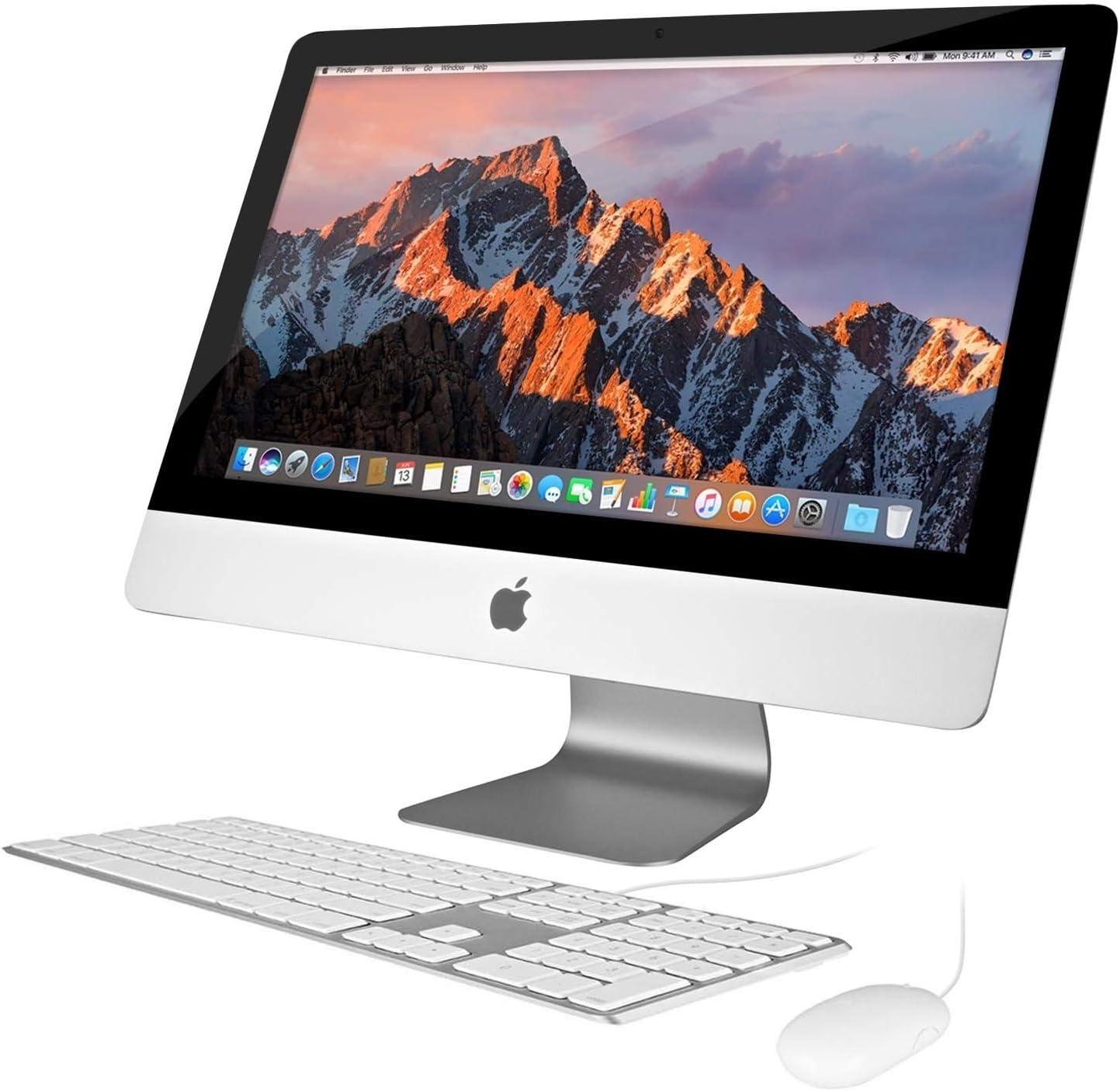 Apple iMac ME699LL/A 21.5in Desktop (Renewed)
