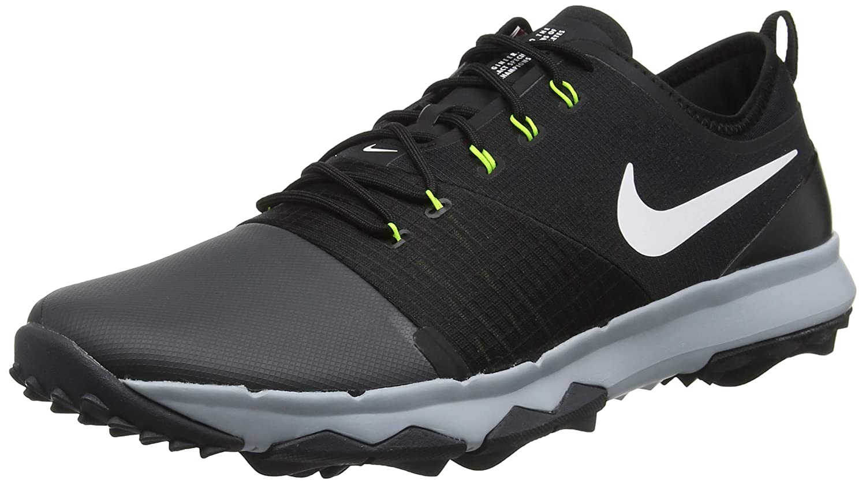new concept 93044 2fcba Amazon.com   NIKE FI Impact 3 Golf Shoes 2018 Anthracite White Black Wolf  Gray Medium 7   Golf