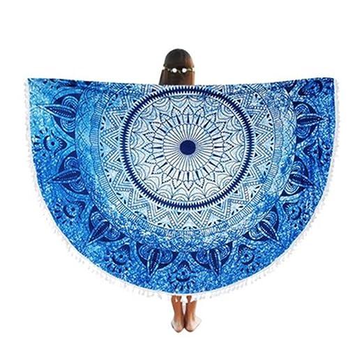 3 opinioni per Sunroyal Asciugamano Teli da mare Decorative Wall Hanging letto rotondo foglio