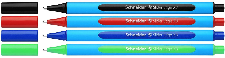 schneider slider edge xb  : Schneider Slider Edge XB Ballpoint Pen, Black/Red/Blue ...
