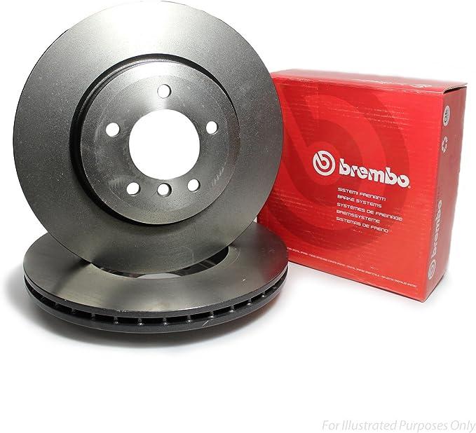 Brembo 09907710 Disco de Freno Set de 2